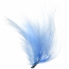 Marabou Feathers 5-6in .25lb Light Blue